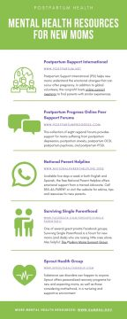 Mental Health Resources for New Moms